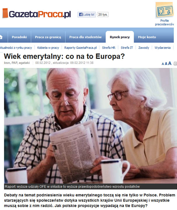PolandRetirementAge