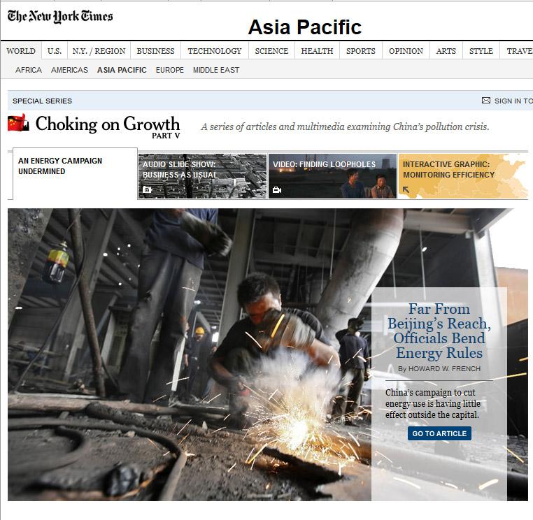 NYT_ChinaChokingOnGrowth