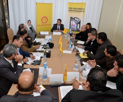 Shell Lubricants Egypt Media Roundtable