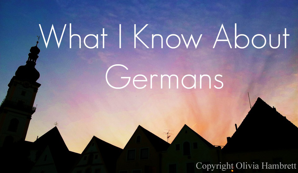 What_I_Konw_About_Germans