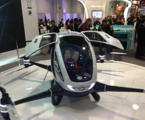 Drones at CES 2016