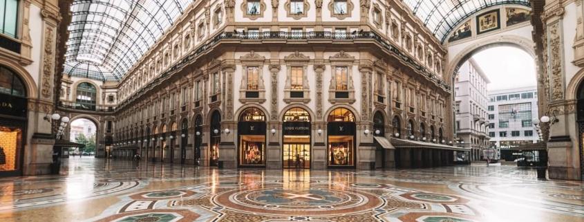 Milano - a classic architecture building