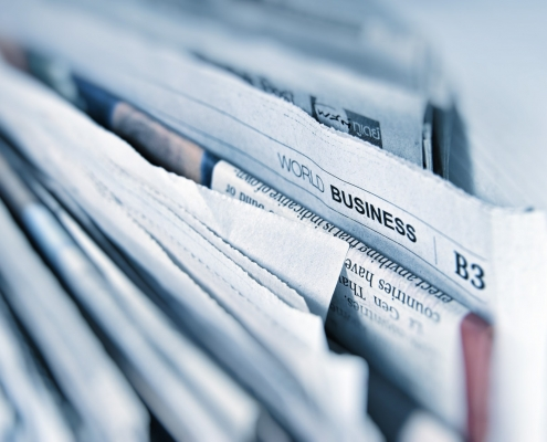 Print news, press releases and magazines