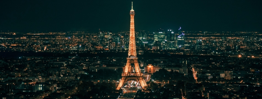 France - Eiffel Tower at Night