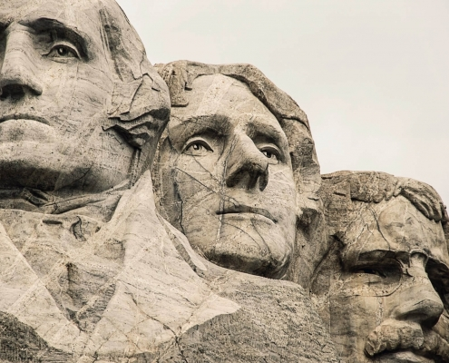 Founding Fathers, Statues, America, Democracy
