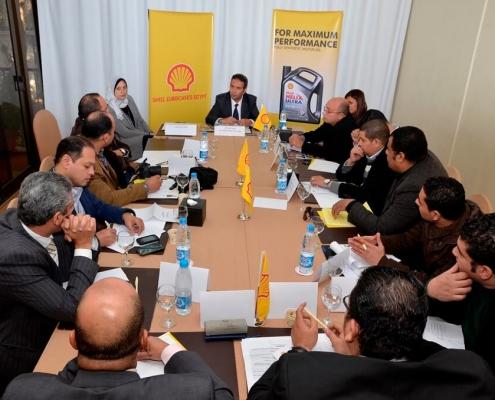 Shell Lubricants Egypt Media Roundtable