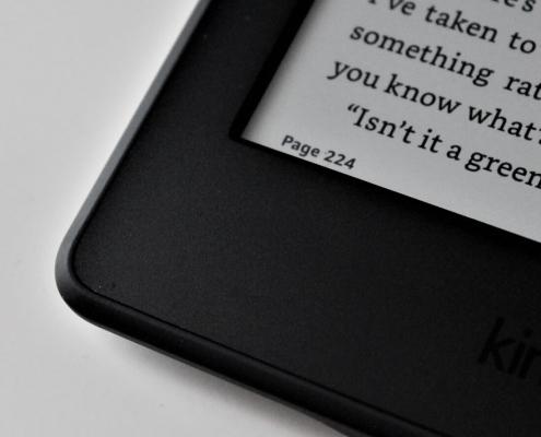 Kindle, e-Book reader