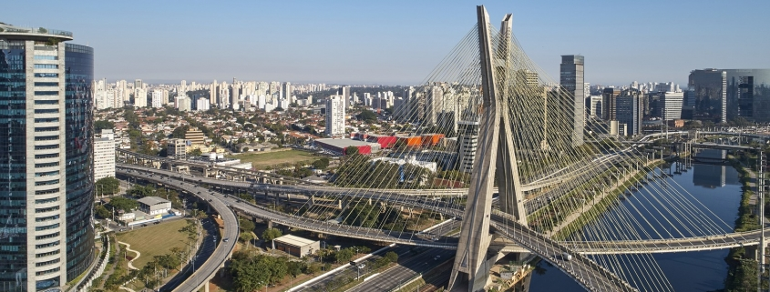 Bridge in Sao Paulo, Brazil