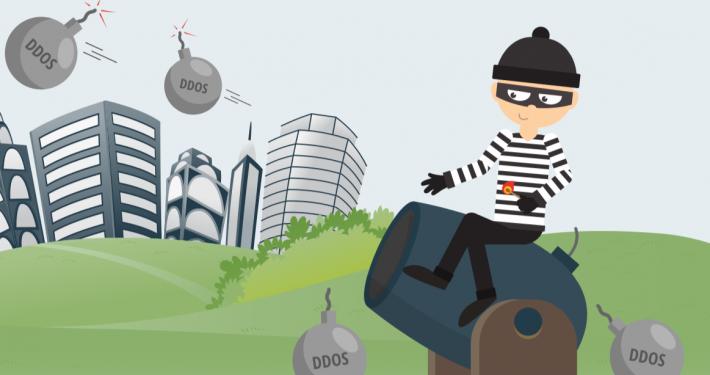 DDos attack image