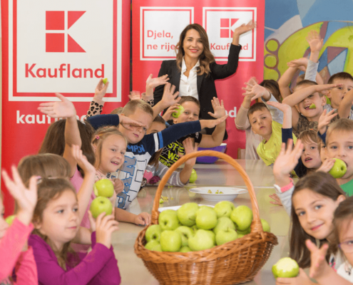 "Project ""Kaufland school of fruits and vegetables"""