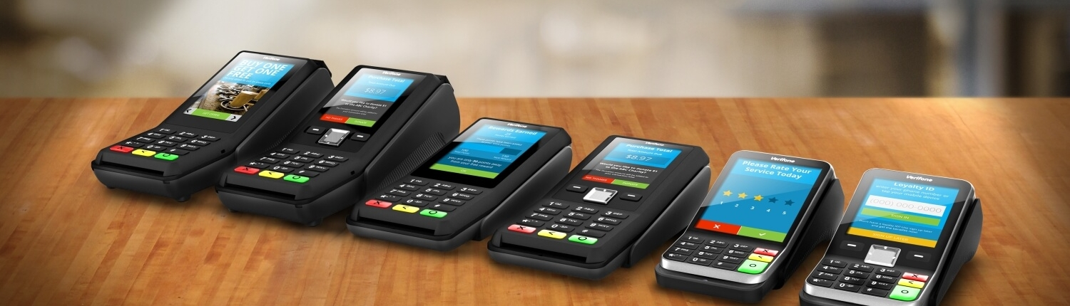 Verifone payment devices