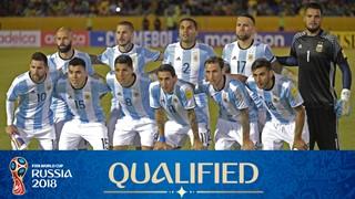 team photo for Argentina