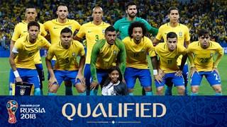 team photo for Brazil