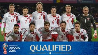 team photo for Denmark