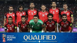team photo for Egypt