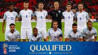 team photo for England