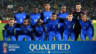 team photo for France