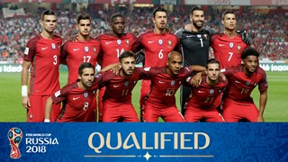 team photo for Portugal