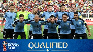 team photo for Uruguay