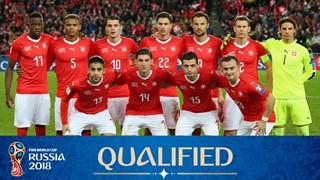team photo for Switzerland
